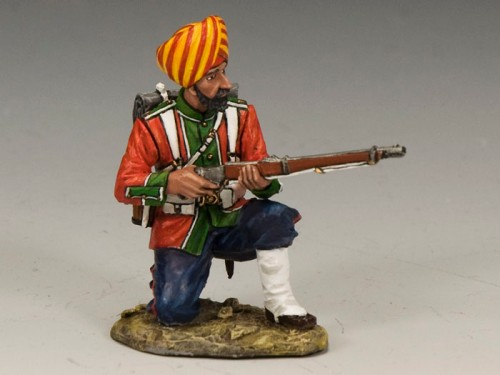 King and Country SOE006: Ludhiana Sikhs Regiment Kneeling Ready