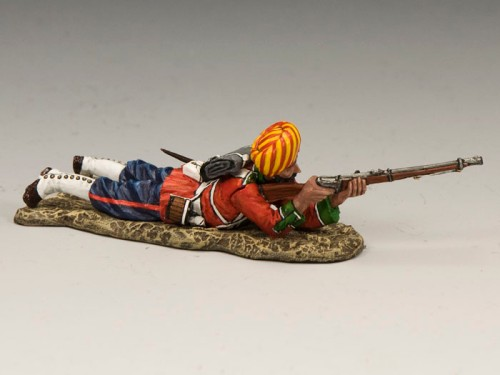 King and Country SOE007: Ludhiana Sikhs Regiment Lying Firing