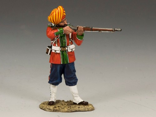King and Country SOE008: Ludhiana Sikhs Regiment Standing Firing