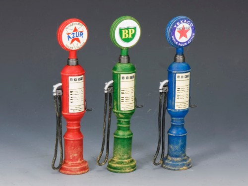 King and Country SP052: Petrol / Gas Pumps (set of 3)