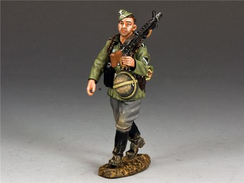 King and Country WS201 - Marching MG42 Gunner