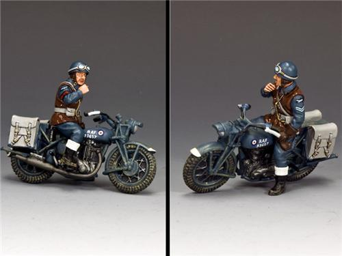 King and Country RAF052: RAF Dispatch Rider
