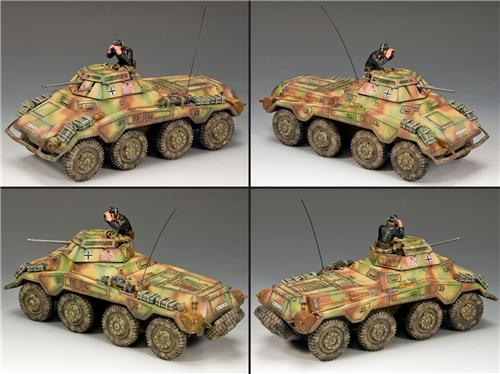 King and Country WS197: Sd. Kfz. 234/1 Schwerer Panzerspahwagen