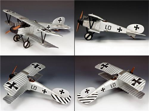 King and Country FW115: Albatros DV (Ernst Udet) - Only 150 Produced! - RETIRED - SOLD OUT