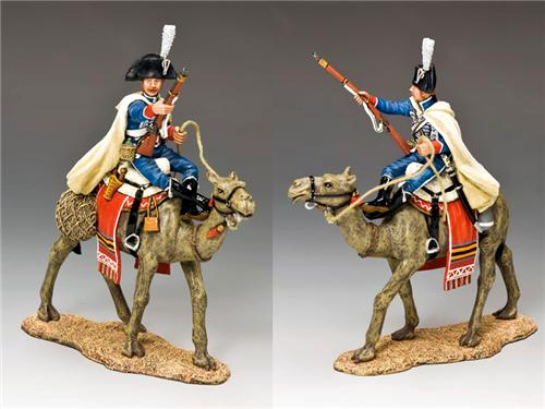 King and Country NE028: Camel Cavalier with Musket