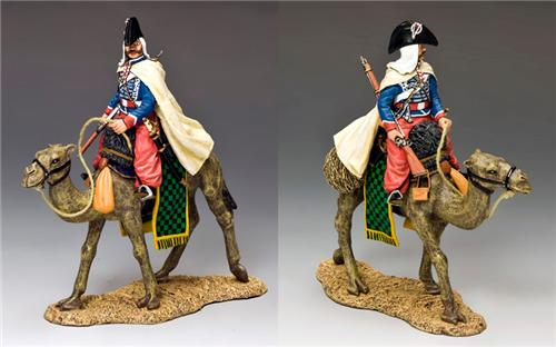 King and Country NE029: Camel Cavalier with Baggy Red Pantaloons
