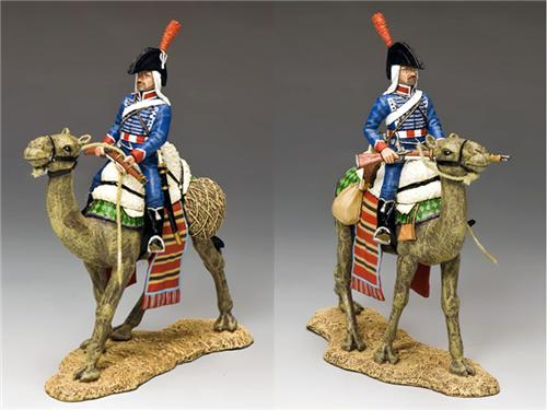 King and Country NE030: Camel Cavalier with Rifle