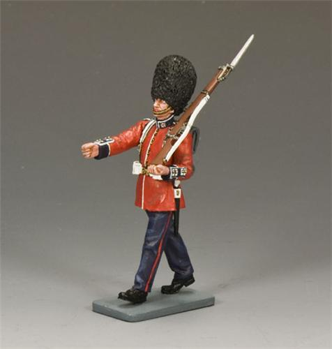 King and Country CE004: Marching Guardsman with Rifle