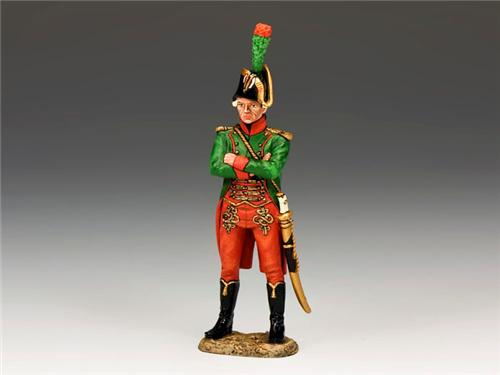 King and Country NE018: Standing Guides Officer