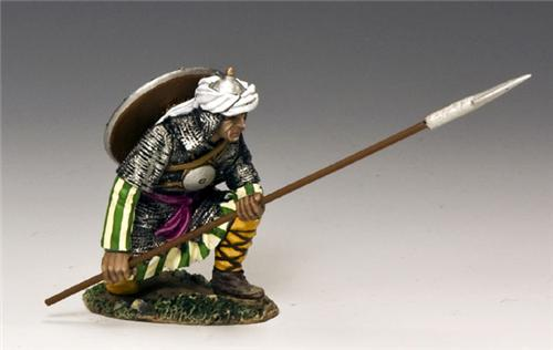 King and Country MK101: Kneeling Saracen Spearman