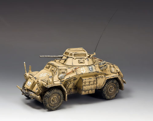 King and Country AK092: Sd. Kfz. 222 Armoured Car (North Africa-Desert)