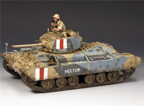 King and Country EA078: Valentine MK III Tank
