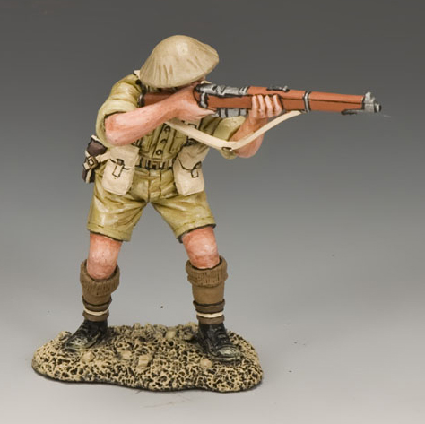 King and Country EA084: Standing Firing Rifleman