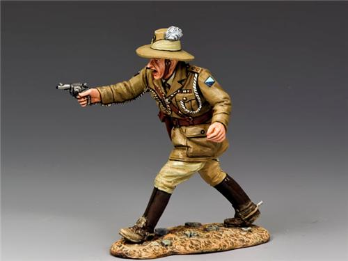 King and Country AL041: Officer w/ Pistol