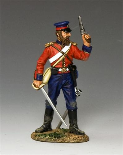 King and Country CR001: Officer w/ Pistol & Sword