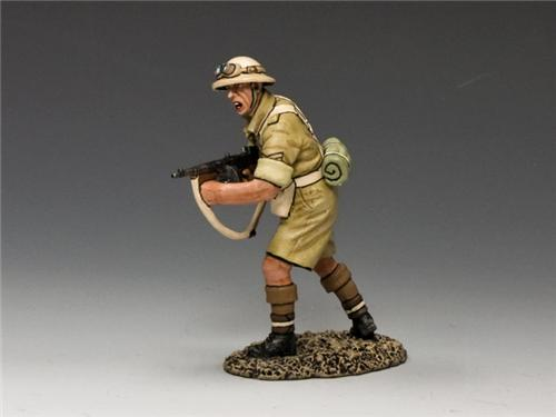 King and Country EA080: Sergeant Tommy-Gunner