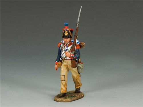 King and Country NA233: French Line Marching Rifleman