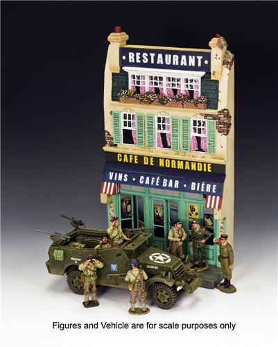 King and Country SP054: Cafe De Normandie