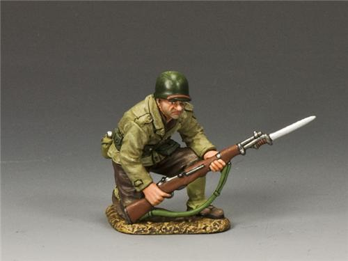 King and Country DD186: Kneeling w/ Rifle & Bayonet