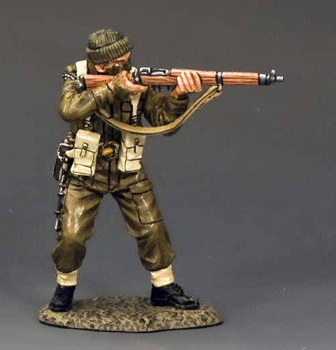 King and Country DD193: Standing Firing Rifle