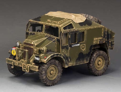 King and Country DD202: Morris C8 Field Artillery Tractor & Limber