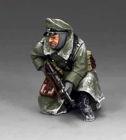 King and Country BBG081: Kneeling Officer w/MP40