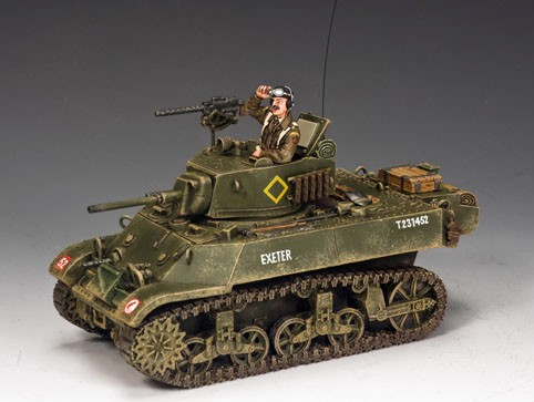 King and Country DD223: M3A3 'Stuart' Light Tank