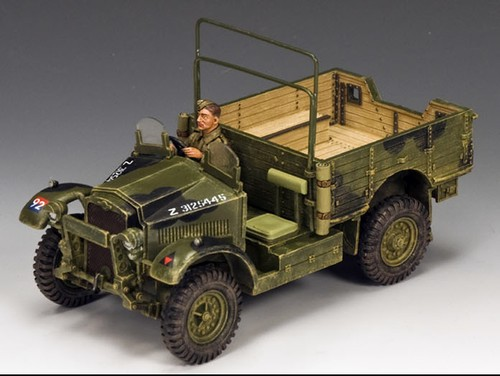 King and Country FOB091: Morris CS8 Truck (BEF)