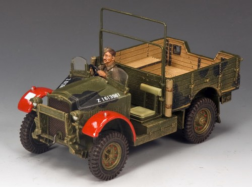 King and Country FOB097: Bomb Disposal Morris CS8