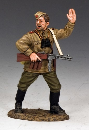 King and Country RA050: Red Army Platoon Leader