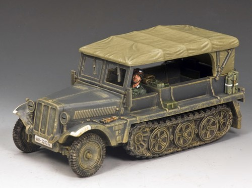 King and Country WS229: Sd Kfz 10 Ausf B Demag