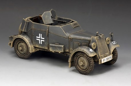 King and Country WS246: Adler Kfz. 13 Armoured Car
