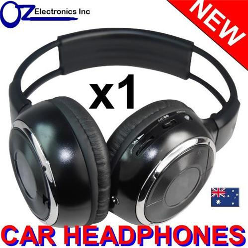 universal infrared wireless ir headphones for car dvd players perfect for kids