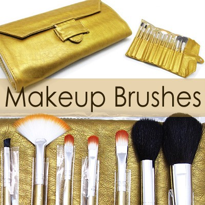 53044-THUMB 12 pcs makeup brush set with gold pouch.jpg 3/24/2011