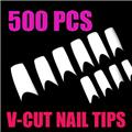 Thumb_54033-THUMB v shape nail tips french white.jpg 6/11/2010
