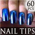 Thumb_54205-2-THUMB 60pcs metallic false nail full tips.jpg 12/11/2011