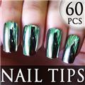Thumb_54205-3-THUMB 60pcs metallic false nail full tips.jpg 12/11/2011