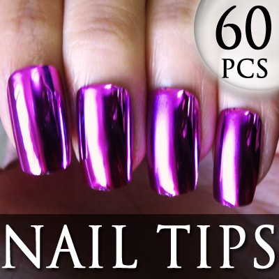 54205-5-THUMB 60pcs metallic false nail full tips.jpg 12/11/2011