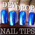 Thumb_54204-3-THUMB 60pcs metallic water drop  false nail full tips.jpg 12/14/2011