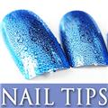 Thumb_54203-5-THUMB 24pcs metallic water drop  false nail full tips.jpg 12/14/2011