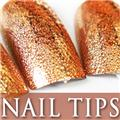 Thumb_54203-1-THUMB 24pcs metallic water drop  false nail full tips.jpg 12/14/2011