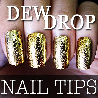 54203-6-THUMB 24pcs metallic water drop  false nail full tips.jpg 2/12/2012