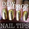Thumb_54203-6-THUMB 24pcs metallic water drop  false nail full tips.jpg 2/12/2012