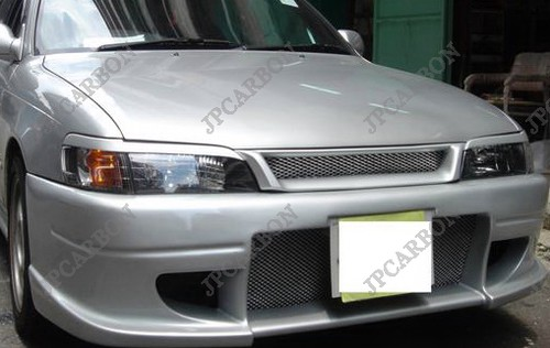 Headlight Eyebrows Eyelids Covers for 1993-2000 Toyota Corolla DX AE100  AE110