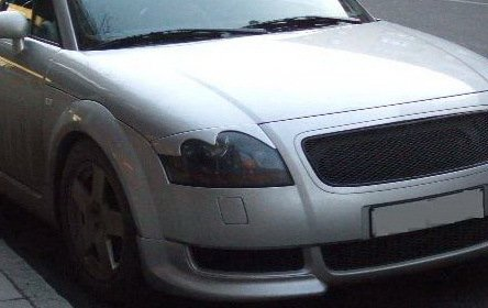 Headlight Eyebrows Eyelids Covers for 2000-2006 Audi TT Roadster MK1