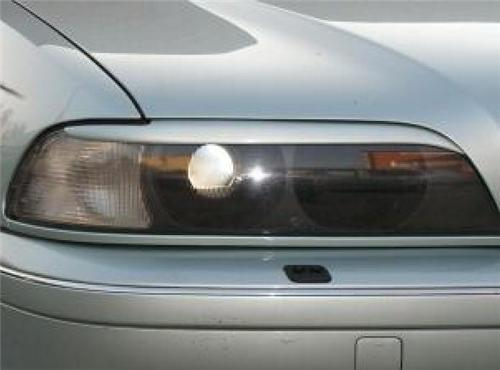 Headlight Eyebrows Eyelids Covers for 1997-2003 BMW E39 5 Series