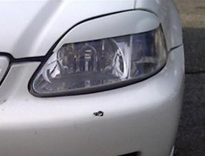 Headlight Eyebrows Eyelids Covers for 1996-1998 Honda Civic EK