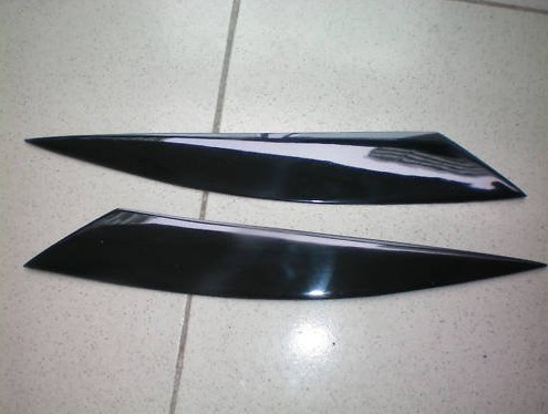 headlight eyebrows eyelids covers for 2004 2008 mazda rx8 rx 8 jp