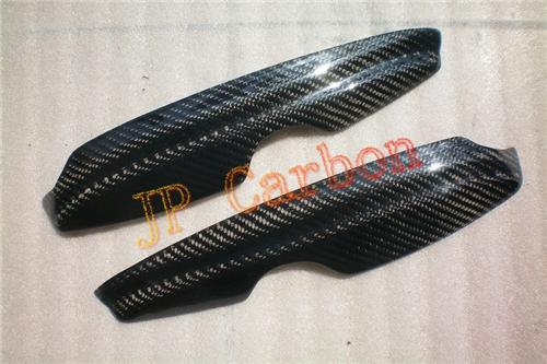 Carbon Fiber Headlight Eyebrows Eyelids Covers for 1997-2003 Volkswagen Golf 4 Golf4 MK4