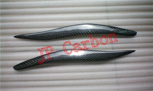 Carbon Fiber Headlight Eyebrows Eyelids Covers for 2006-2008 Lexus IS300 IS250